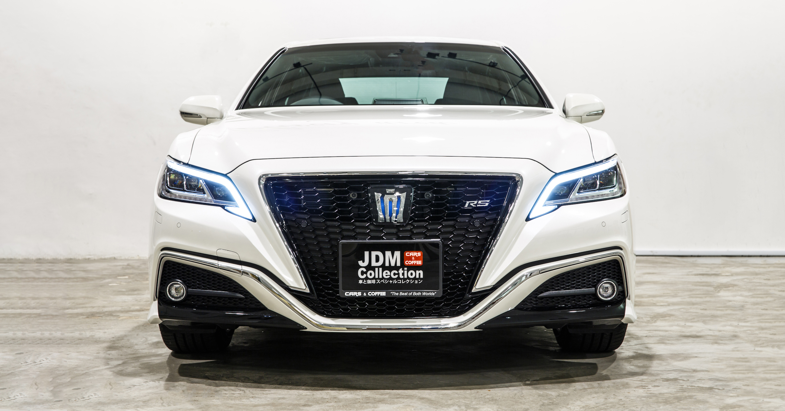 """Mordernized, Bigger, Refined. Pursuing """"connected technology that expands the functionality of cars"""" and the """"evolution of design, driving, and safety performance""""."""