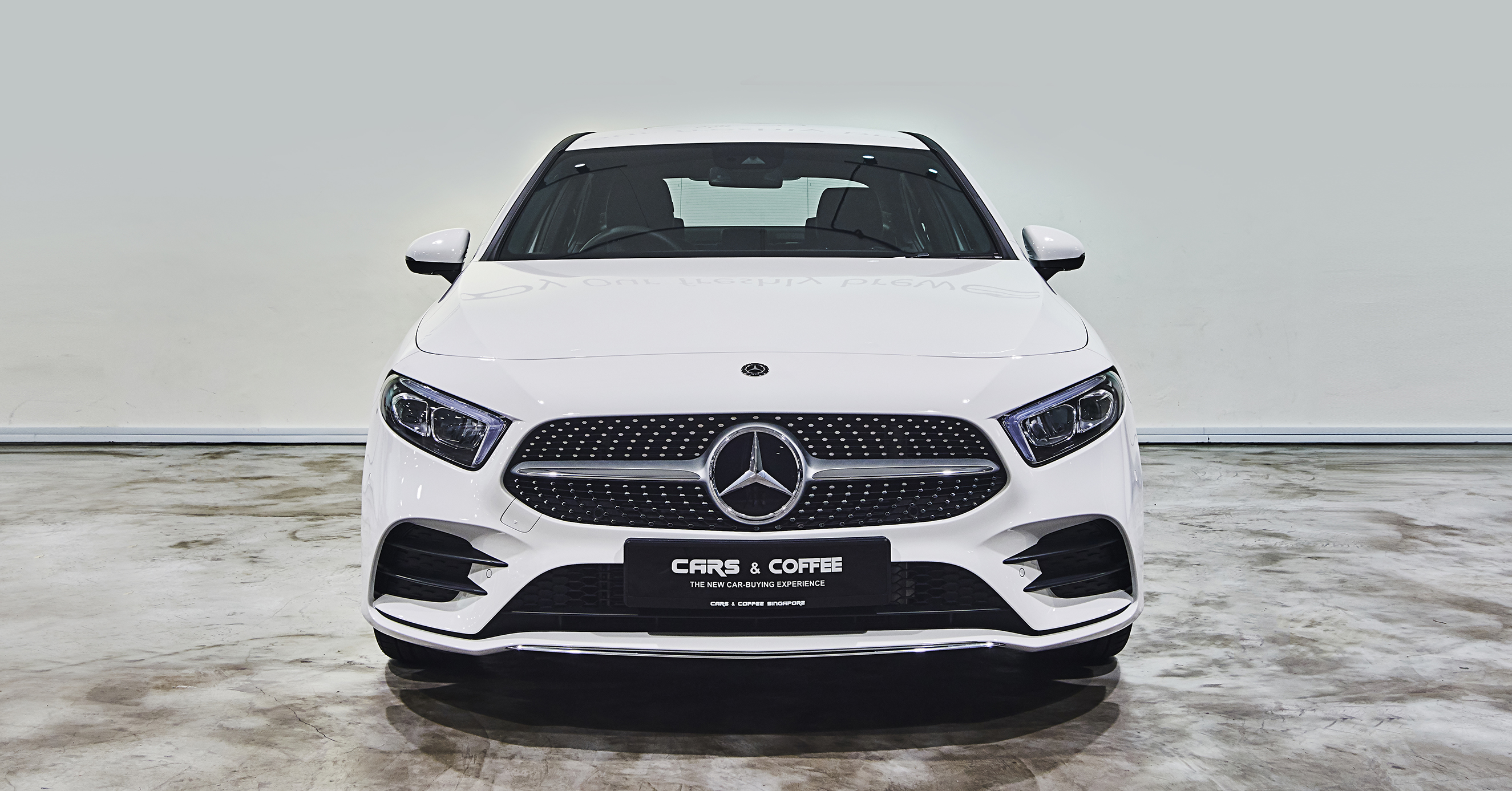 This brand new Saloon, one of the most traditional automotive shapes, meets the A-Class, one of the most innovative, revolutionary vehicles. The result is as dynamic as it is desirable.