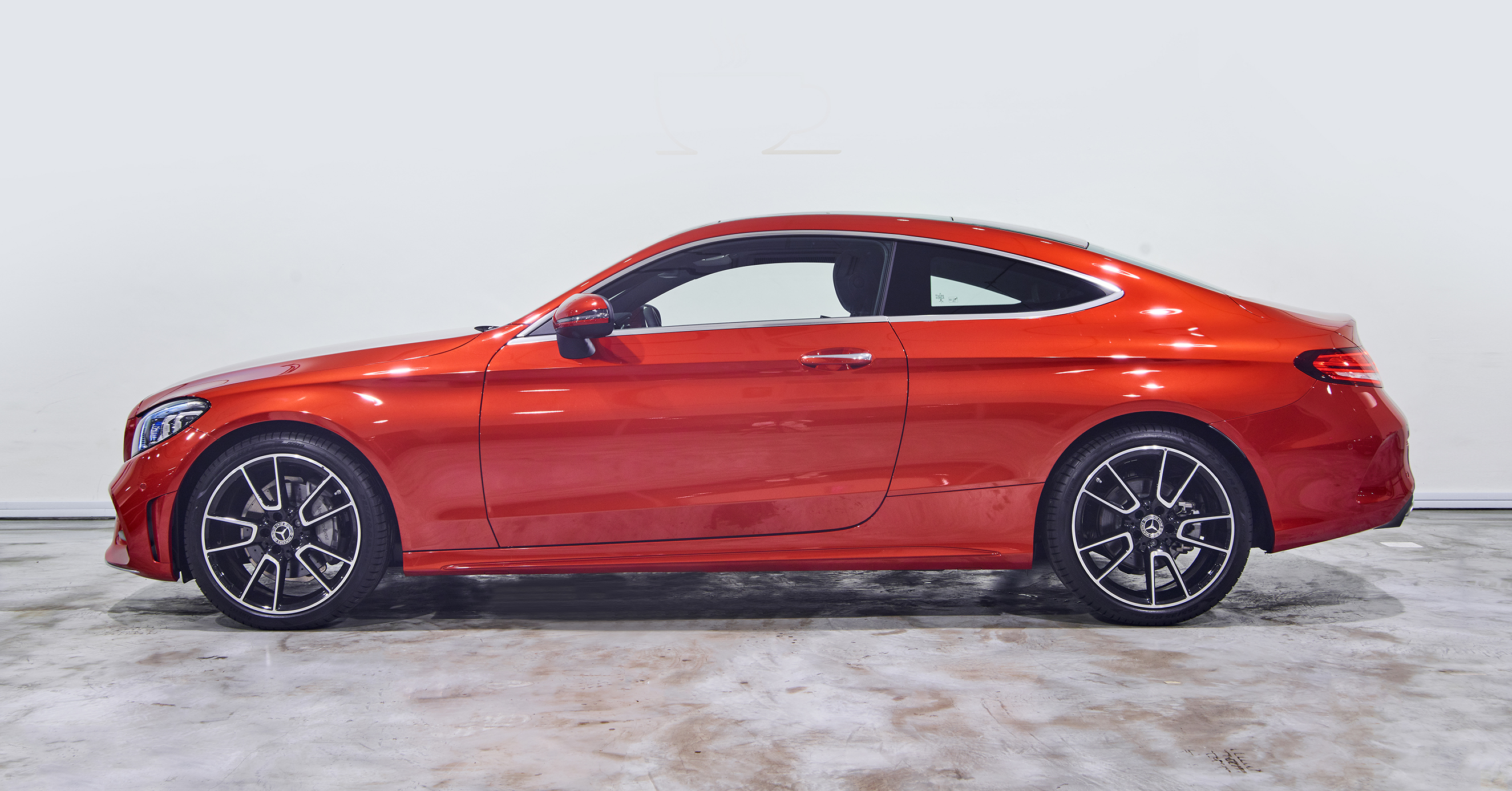 A cut above, and a coupe ahead. Its wind-slicing shape is sharpened. Its athletic stance, assertive. Its brilliant details, polished. The sporty C-Class Coupe displays its state-of-the-art innovations and turbocharged power in a muscular frame with the power to seduce.