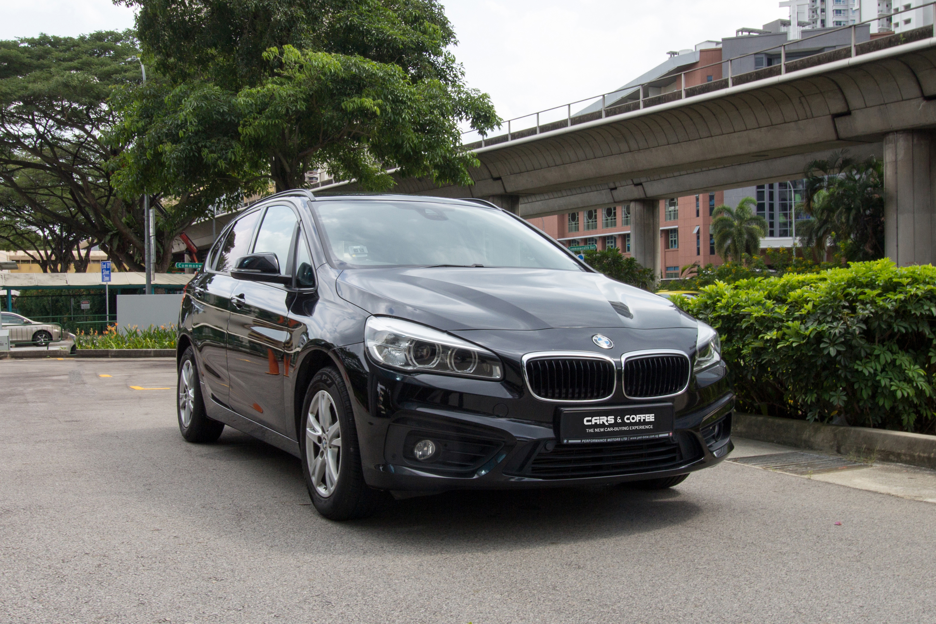 Pre-Owned BMW 216d Active Tourer | Cars and Coffee Singapore