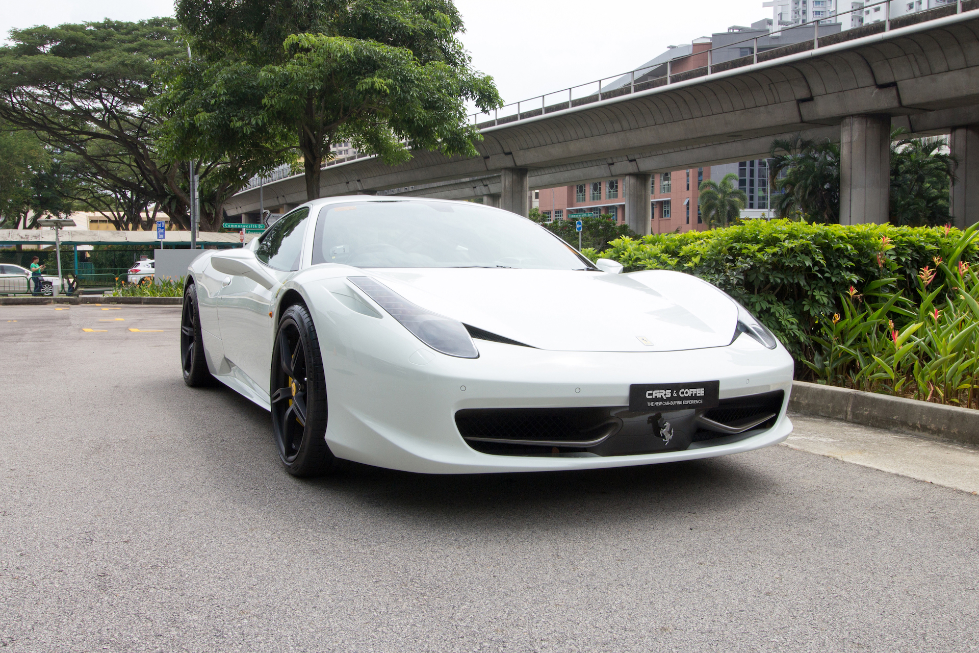 Certified Pre-Owned Ferrari 458 Italia | Cars and Coffee Singapore