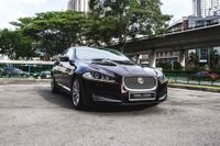 Certified Pre-Owned Jaguar XF Diesel 2.2A Luxury | Cars and Coffee Singapore
