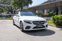 Certified Pre-Owned Mercedes-Benz C200 AMG | Cars and Coffee Singapore