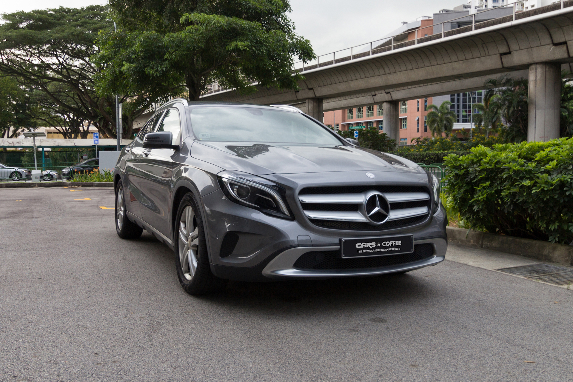 Certified Pre-Owned Mercedes-Benz GLA200 Urban   Cars and Coffee Singapore