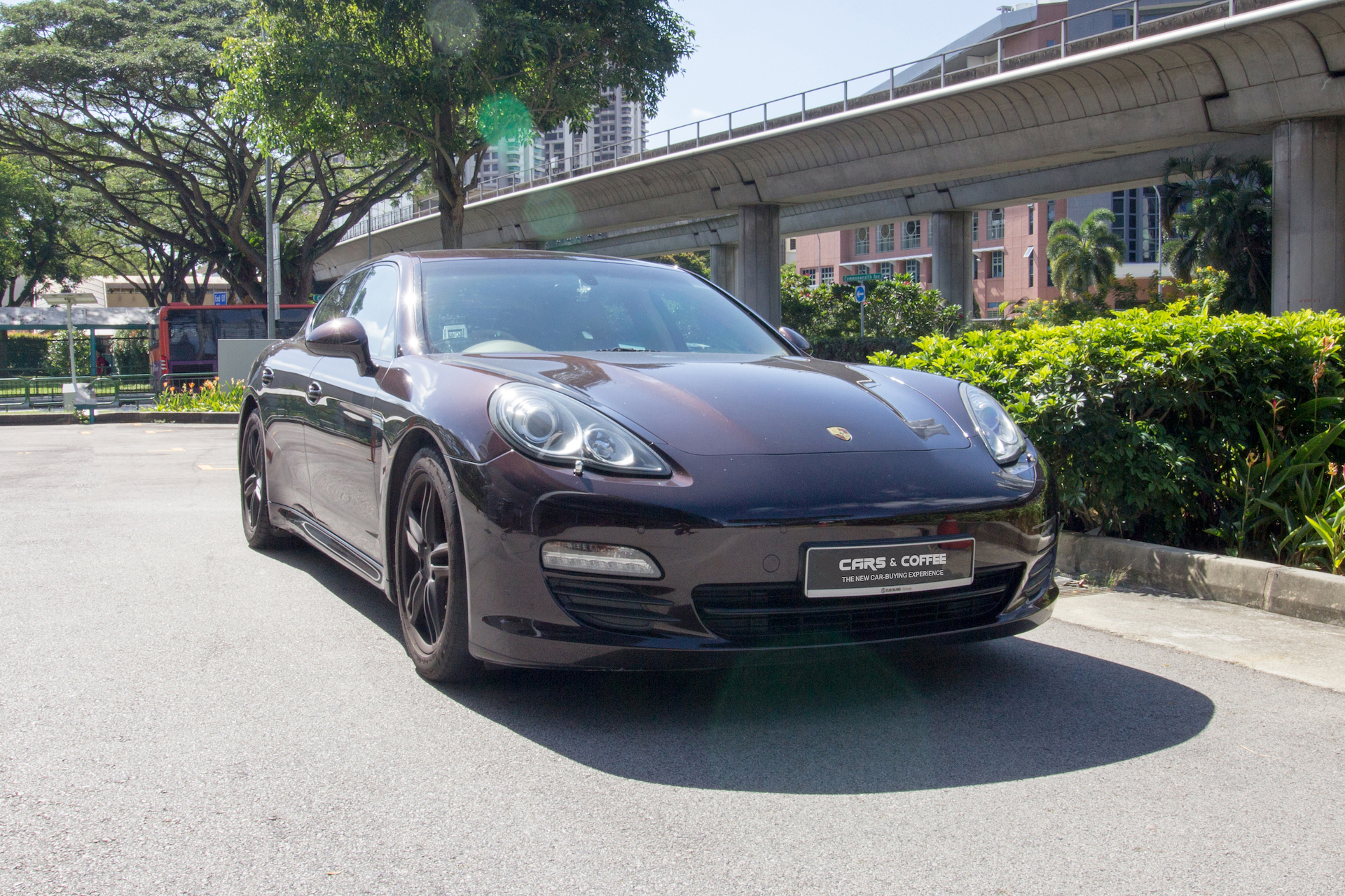Certified Pre-Owned Porsche Panamera 3.6A PDK   Cars and Coffee Singapore