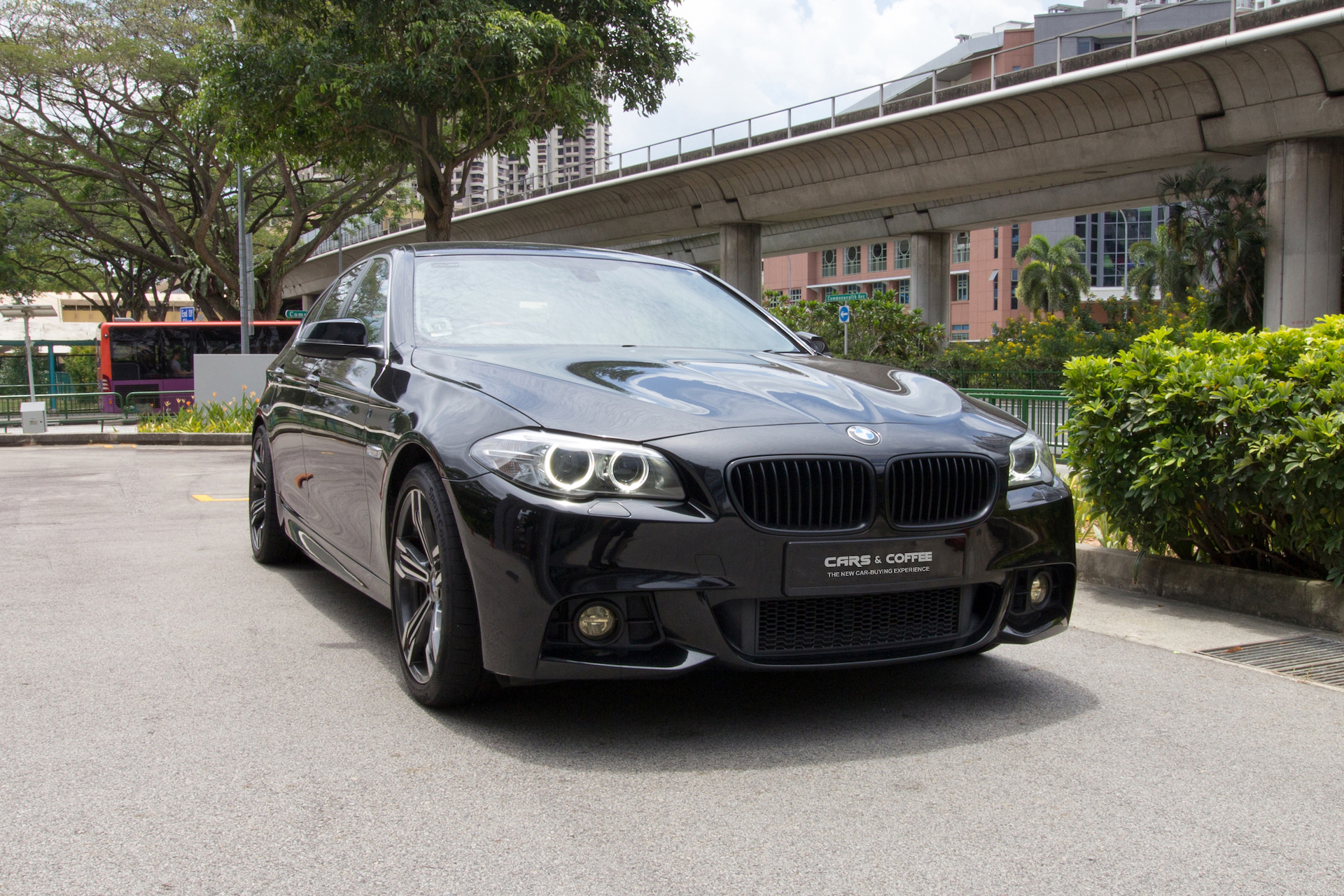 Certified Pre-Owned BMW 528i   Cars and Coffee Singapore