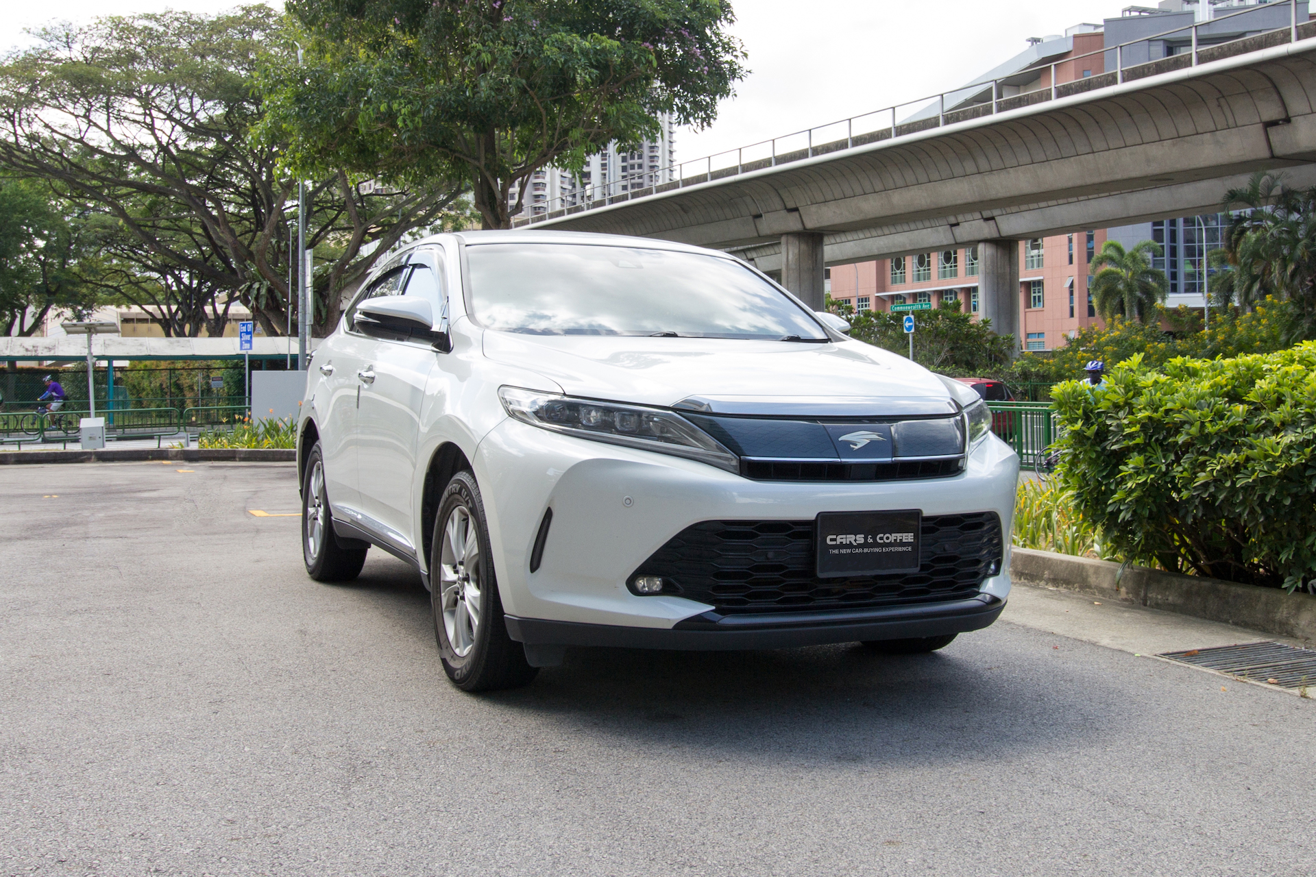 Certified Pre-Owned Toyota Harrier 2.0A M-Grade Turbo | Cars and Coffee Singapore