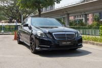 Certified Pre-Owned Mercedes-Benz E250 | Cars and Coffee Singapore