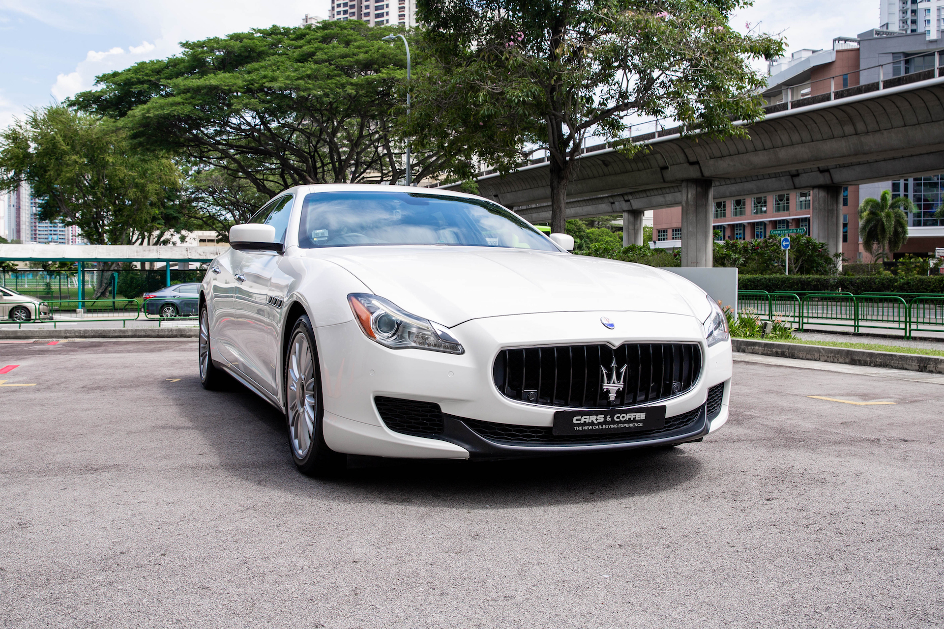 Certified Pre-Owned Maserati Quattroporte S 3.0A   Cars and Coffee Singapore