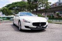 Certified Pre-Owned Maserati Quattroporte S 3.0A | Cars and Coffee Singapore