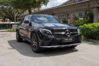 Certified Pre-Owned Mercedes-AMG GLC-Class GLC43 Coupé | Cars and Coffee Singapore
