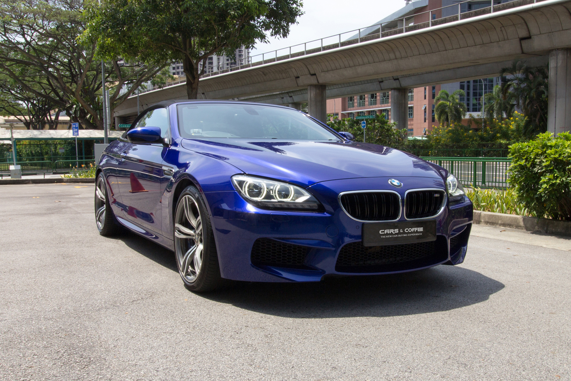 Certified Pre-Owned BMW M6 Cabriolet | Cars and Coffee Singapore
