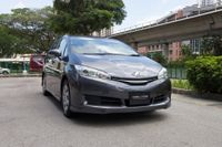 Certified Pre-Owned Toyota Wish 1.8A X | Cars and Coffee Singapore