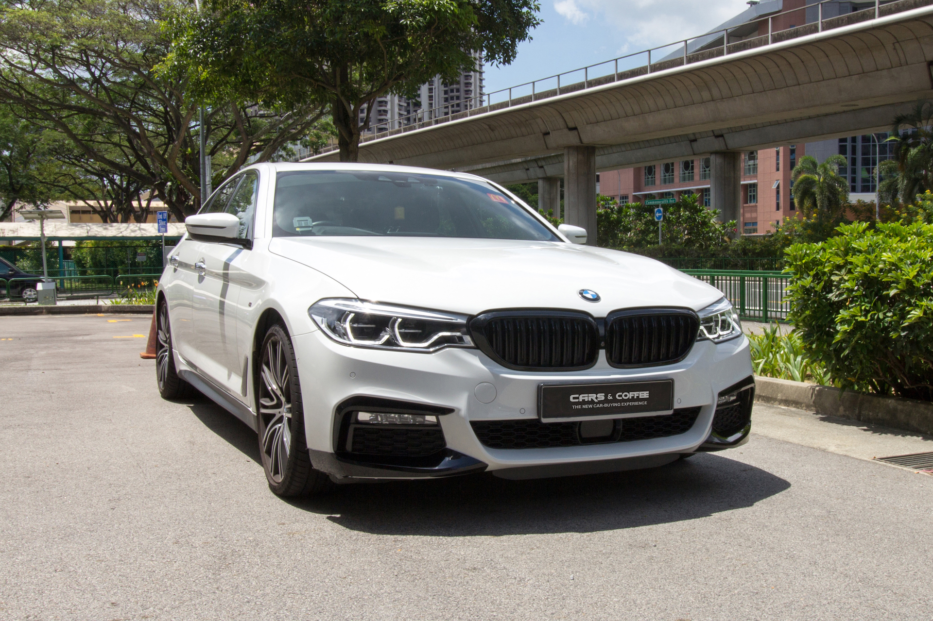 Certified Pre-Owned BMW 540i xDrive M-Sport   Cars and Coffee Singapore