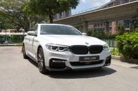 Certified Pre-Owned BMW 540i xDrive M-Sport | Cars and Coffee Singapore