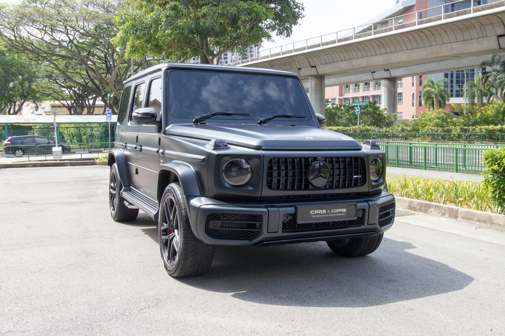 Certified Pre-Owned Mercedes-AMG G63 4MATIC | Cars and Coffee Singapore