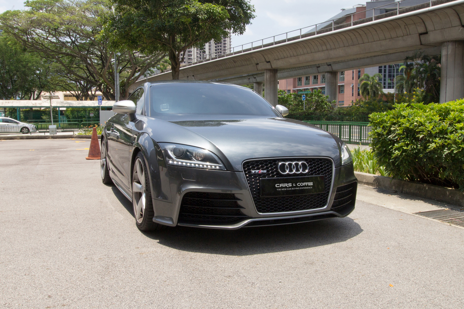 Certified Pre-Owned Audi TTRS Coupe 2.5M TFSI Quattro | Cars and Coffee Singapore