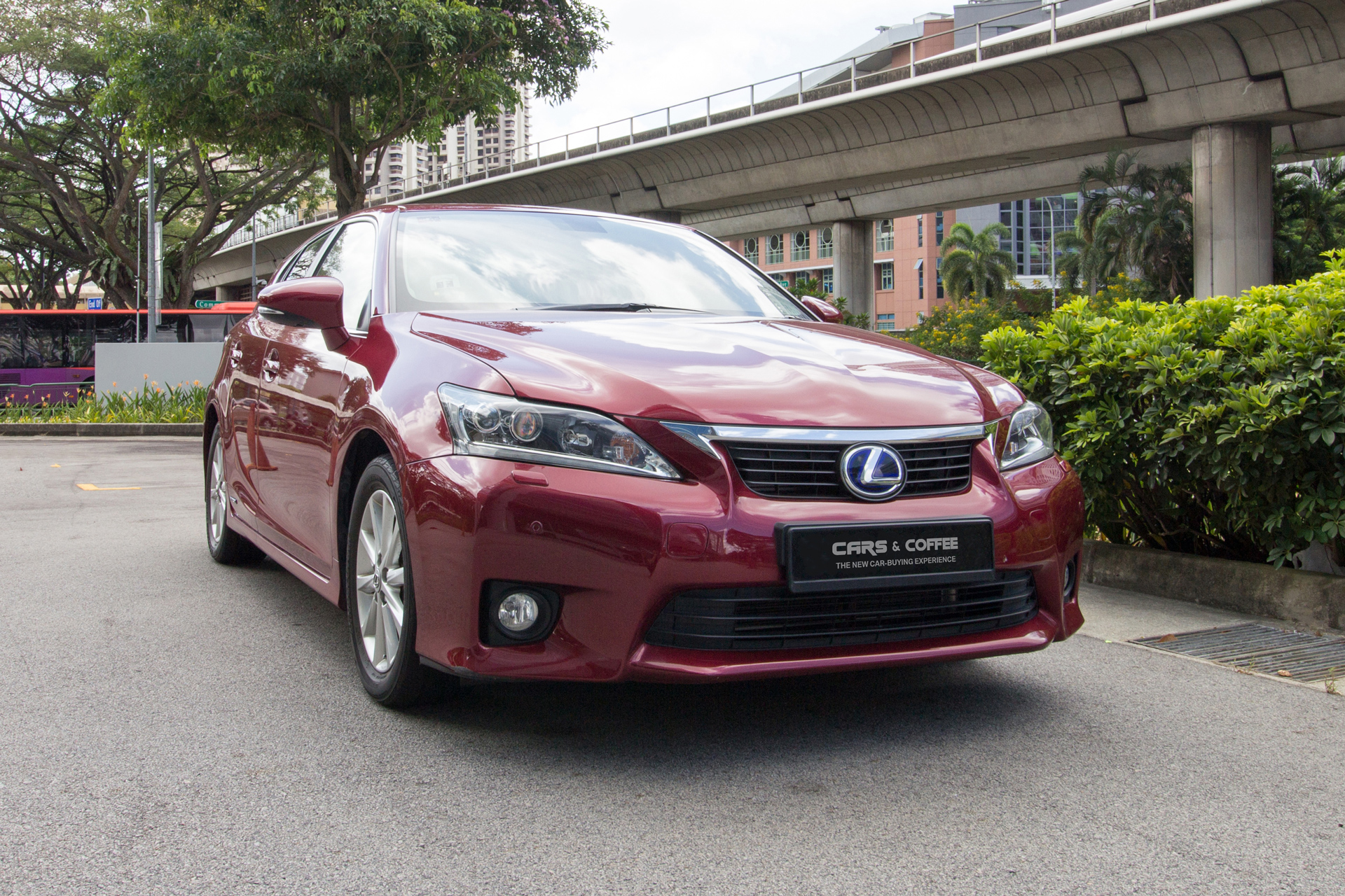 Certified Pre-Owned Lexus CT Hybrid CT200h Premium | Cars and Coffee Singapore