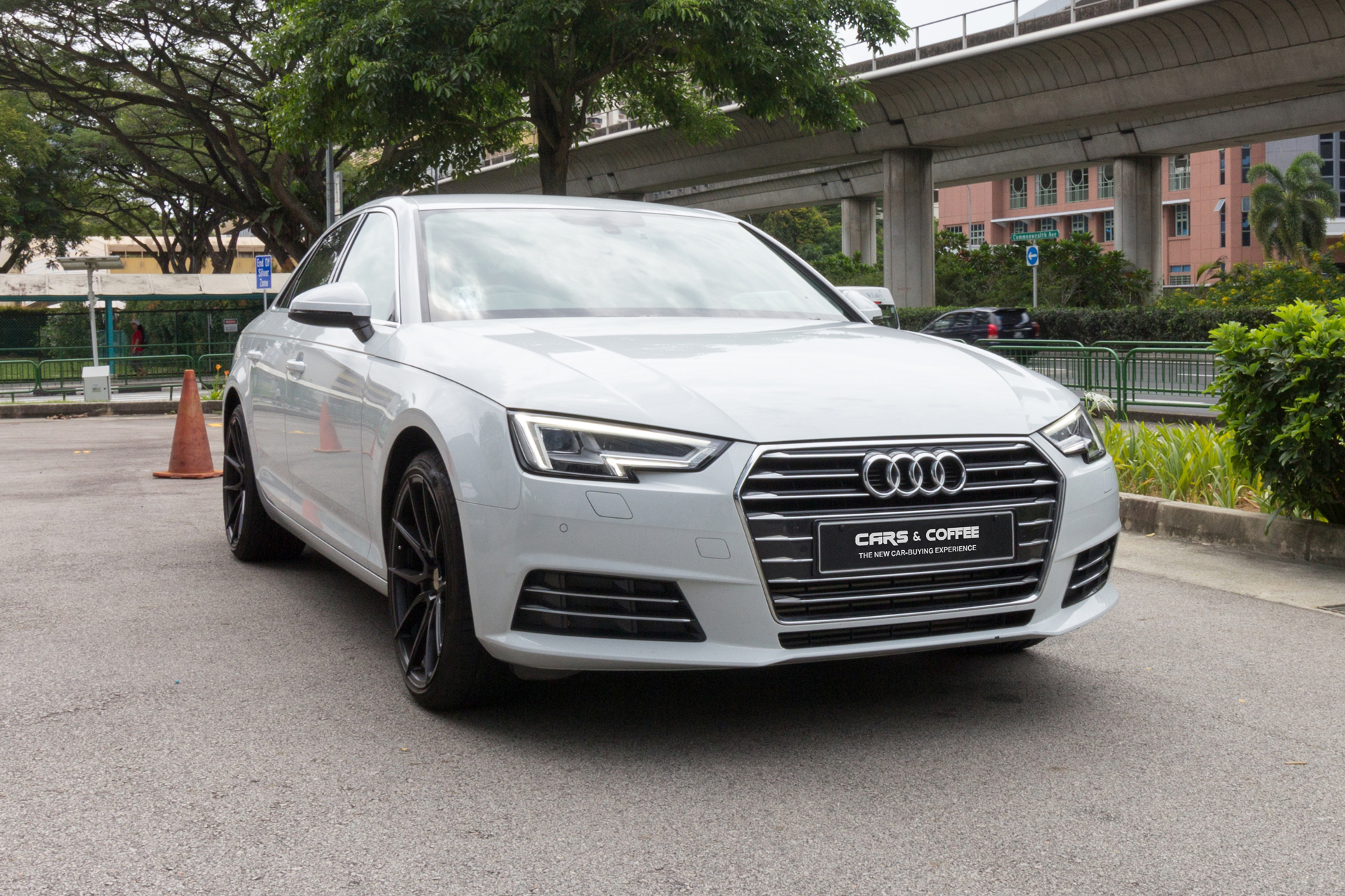 Certified Pre-Owned Audi A4 2.0A TFSI S-tronic   Cars and Coffee Singapore