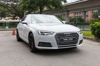 Certified Pre-Owned Audi A4 2.0A TFSI S-tronic | Cars and Coffee Singapore