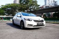 Certified Pre-Owned Kia Cerato K3 1.6A SX Sunroof | Cars and Coffee Singapore
