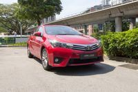Certified Pre-Owned Toyota Corolla Altis 1.6A | Cars and Coffee Singapore
