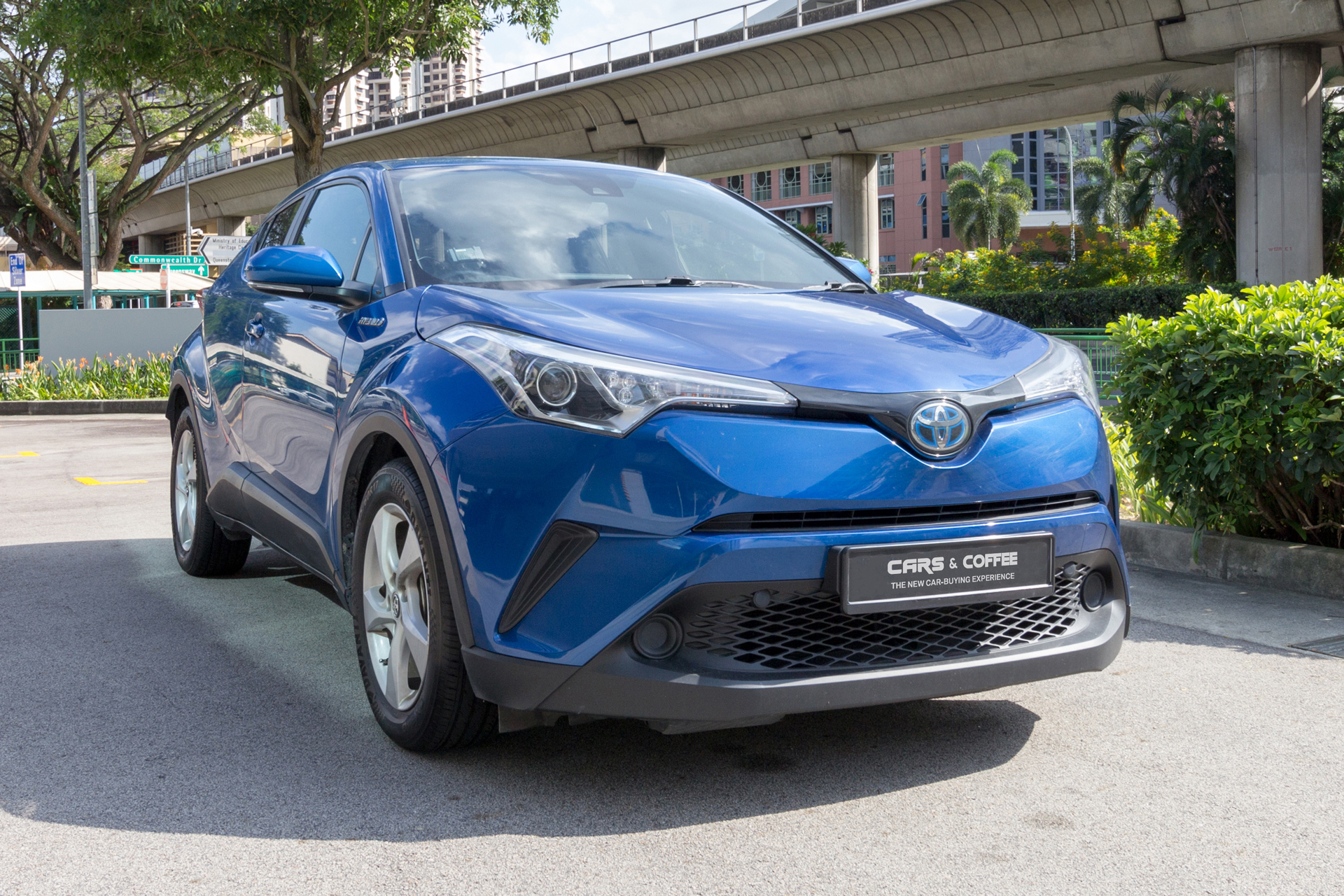Certified Pre-Owned Toyota C-HR Hybrid 1.8A G   Cars and Coffee Singapore