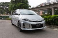 Certified Pre-Owned Toyota Estima 2.4A Aeras Premium Moonroof | Cars and Coffee Singapore