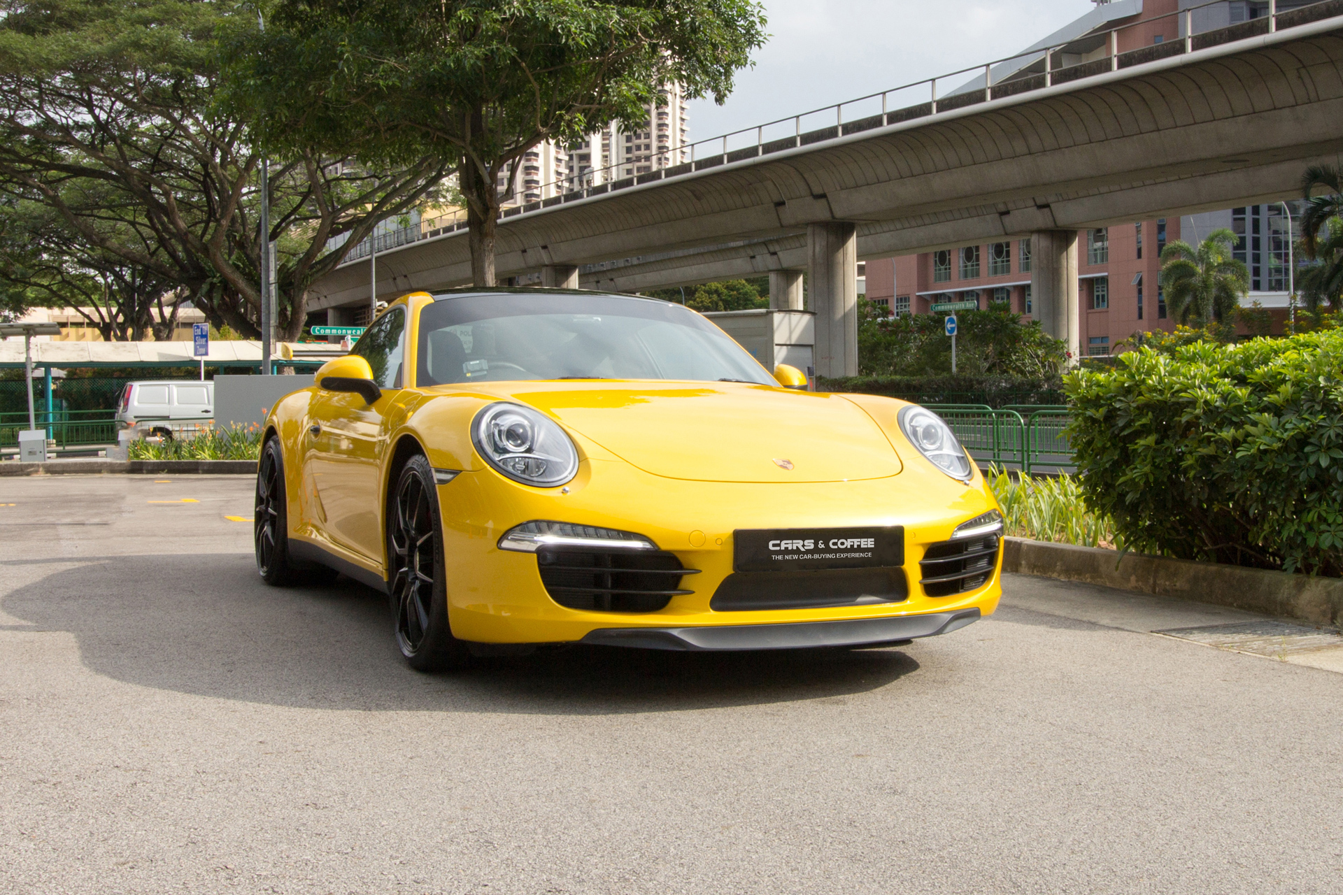 Certified Pre-Owned Porsche 911 Carrera 3.4 Coupe PDK | Cars and Coffee Singapore