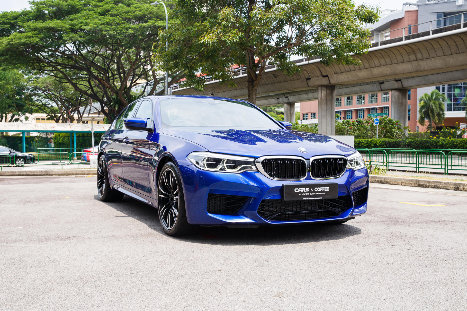Certified Pre-Owned BMW M5 | Cars and Coffee Singapore