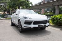Certified Pre-Owned Porsche Cayenne Coupe 3.0A Tip | Cars and Coffee Singapore
