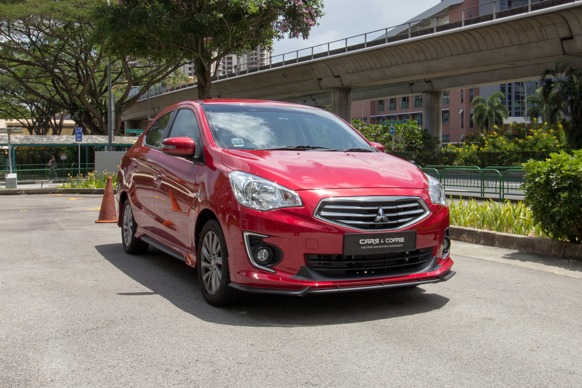 Certified Pre-Owned Mitsubishi Attrage 1.2A | Cars and Coffee Singapore