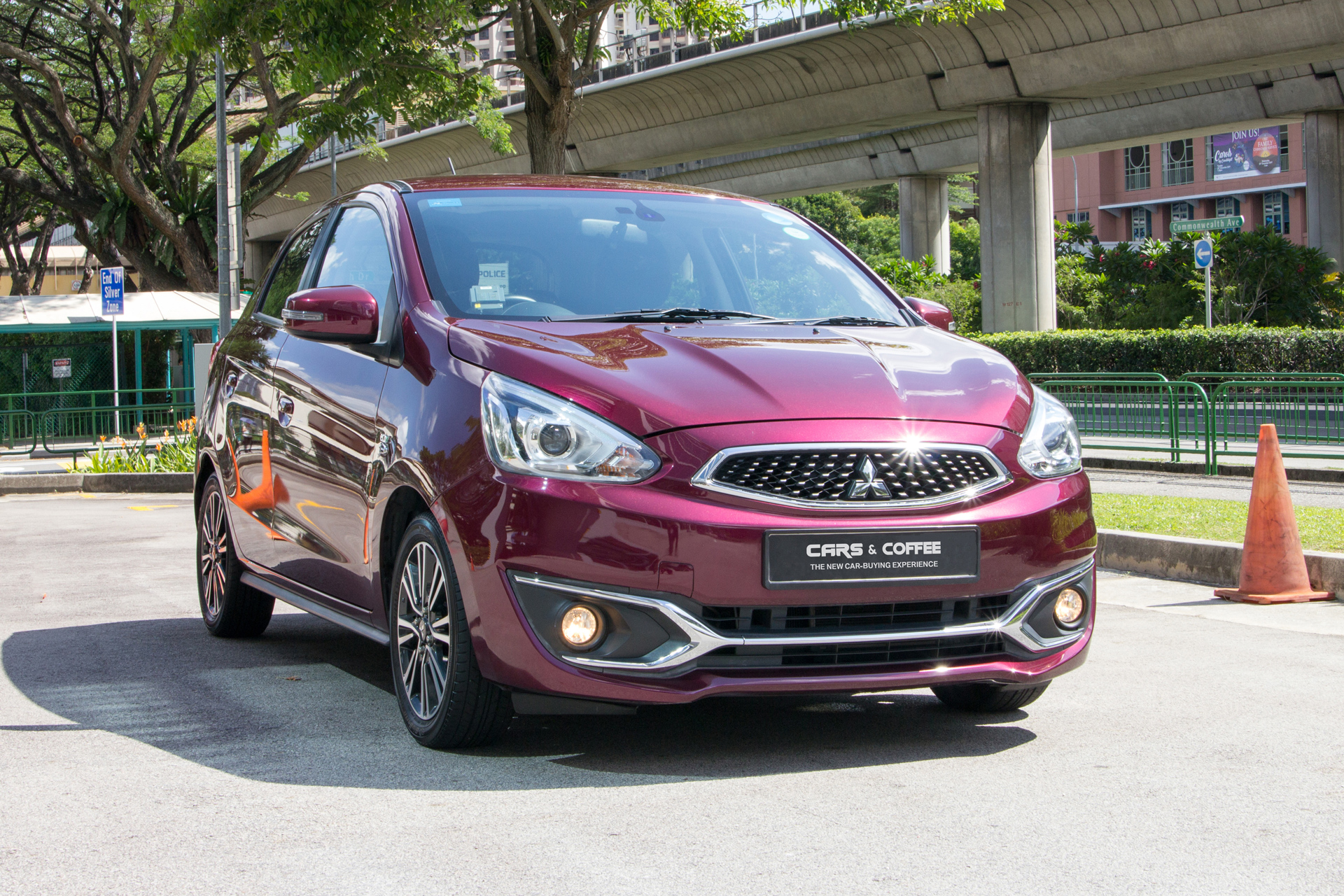 Certified Pre-Owned Mitsubishi Space Star 1.2A Sport | Cars and Coffee Singapore