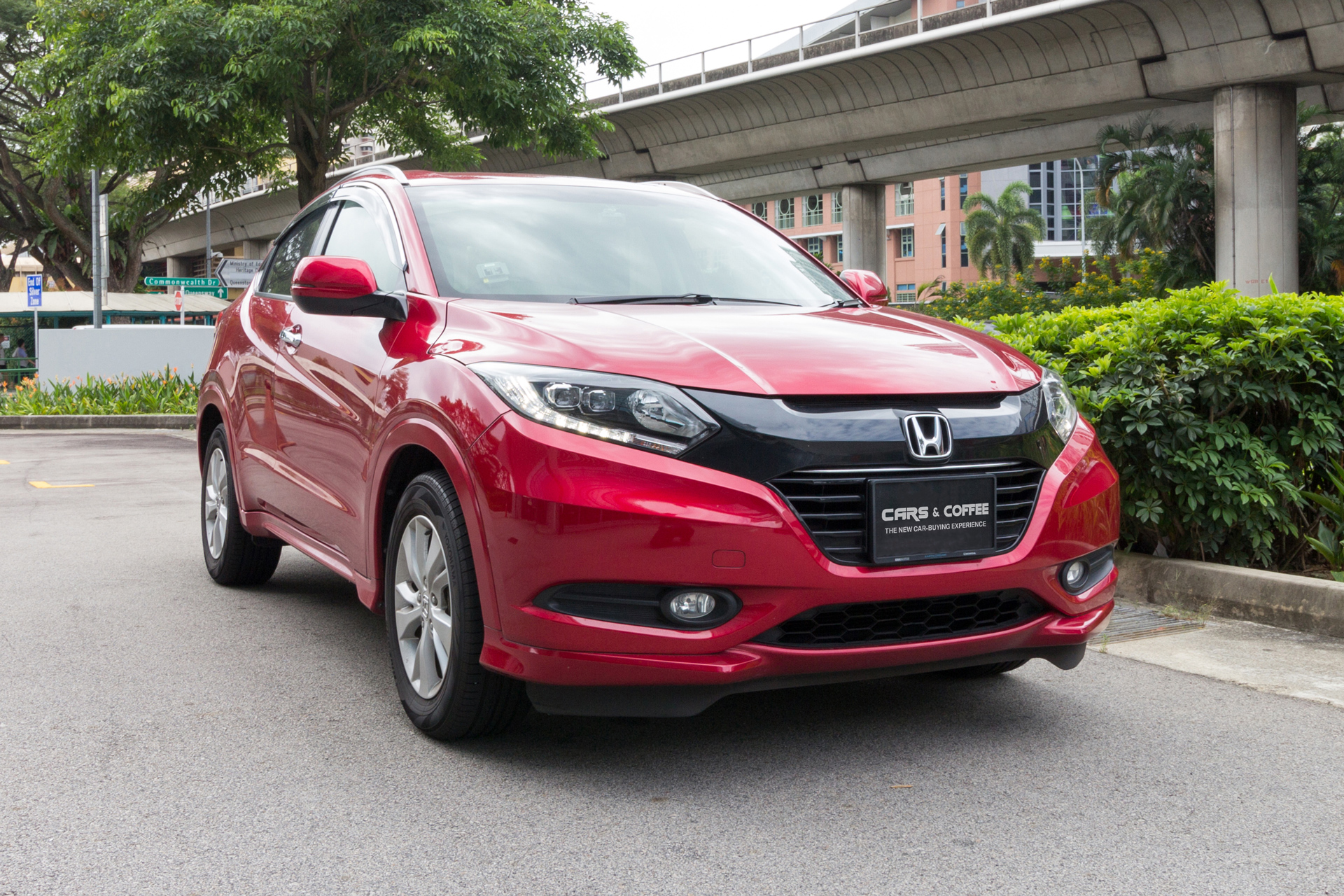 Certified Pre-Owned Honda HR-V 1.5A LX | Cars and Coffee Singapore