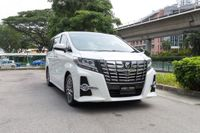 Certified Pre-Owned Toyota Alphard 2.5A S C-Package | Cars and Coffee Singapore