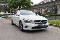 Certified Pre-Owned Mercedes-Benz CLA200 Shooting Brake | Cars and Coffee Singapore