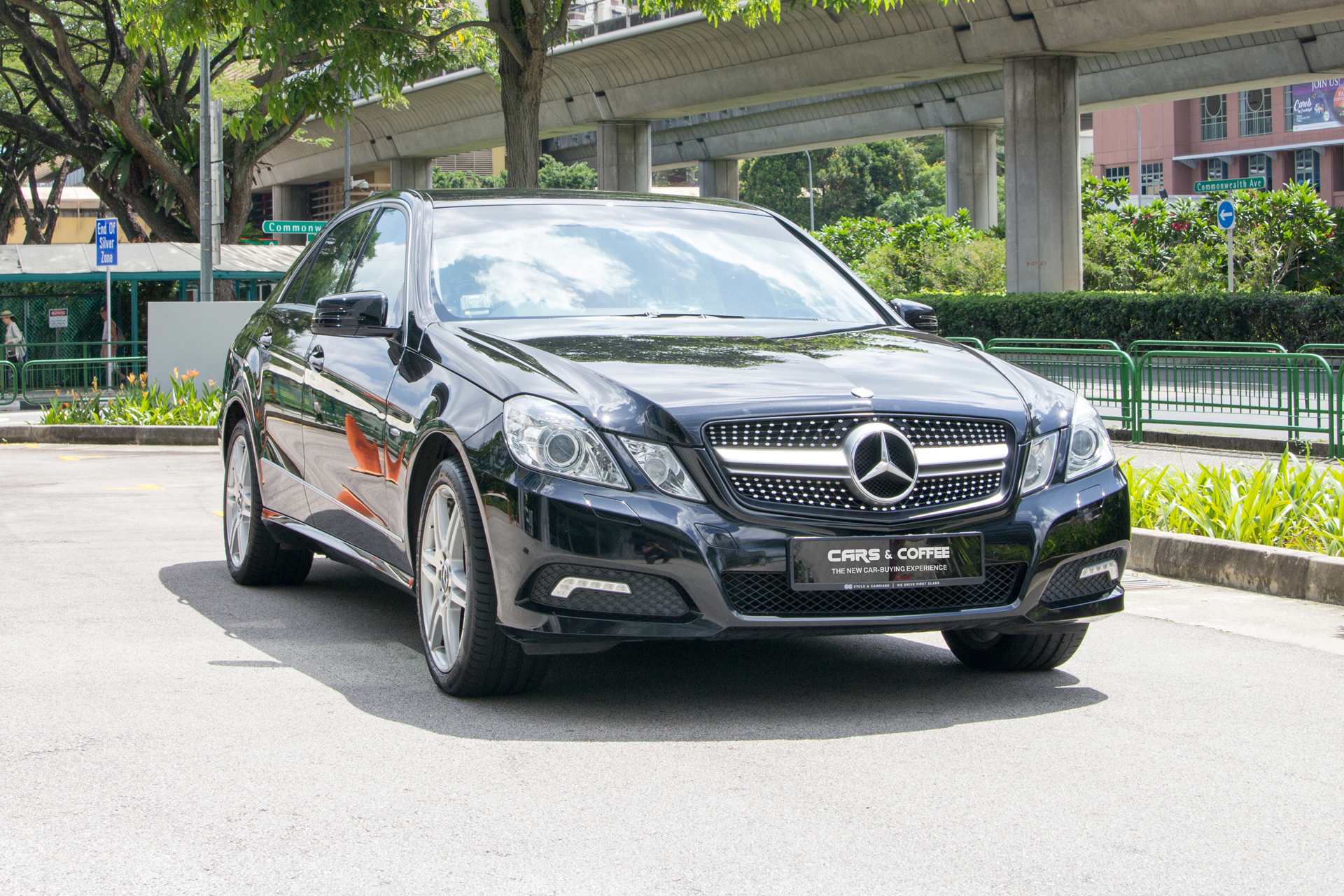 Certified Pre-Owned Mercedes-Benz E250 CGI | Cars and Coffee Singapore