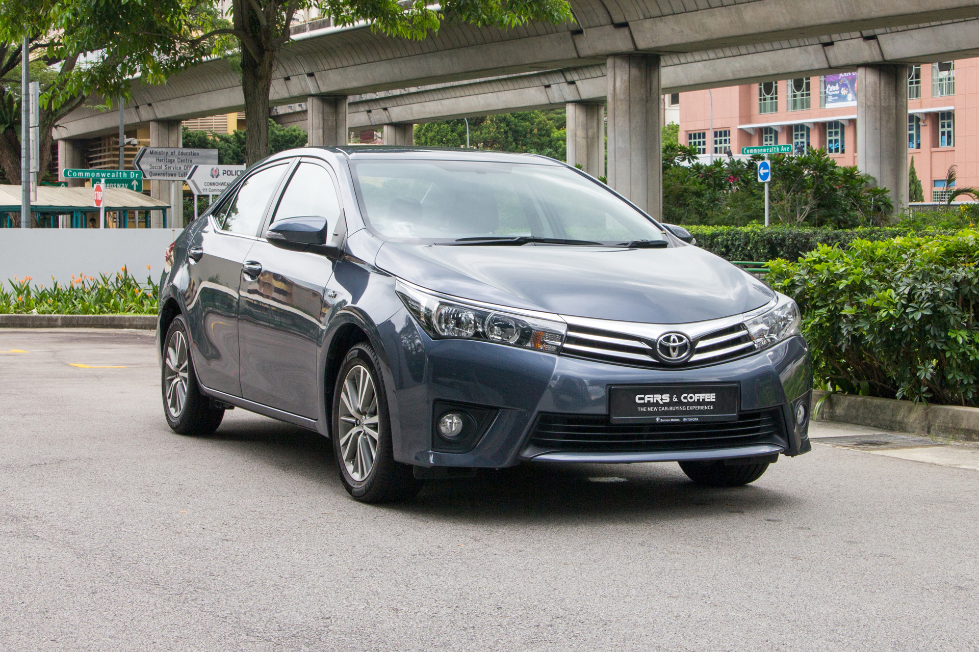 Certified Pre-Owned Toyota Corolla Altis 1.6A Classic   Cars and Coffee Singapore