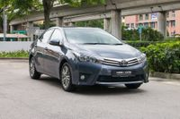 Certified Pre-Owned Toyota Corolla Altis 1.6A Classic | Cars and Coffee Singapore