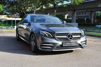 Certified Pre-Owned Mercedes-Benz E250 AMG | Cars and Coffee Singapore