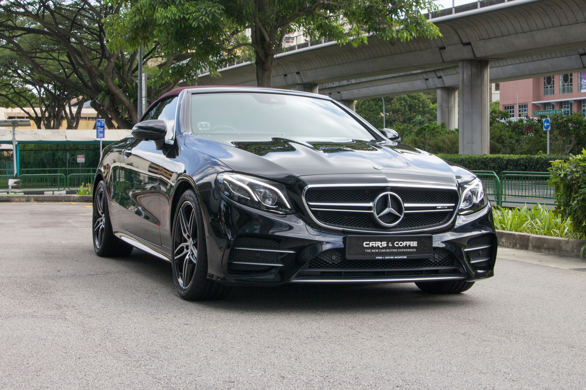 Certified Pre-Owned Mercedes-Benz E53 Cabriolet AMG 4MATIC   Cars and Coffee Singapore