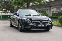 Certified Pre-Owned Mercedes-Benz E53 Cabriolet AMG 4MATIC | Cars and Coffee Singapore