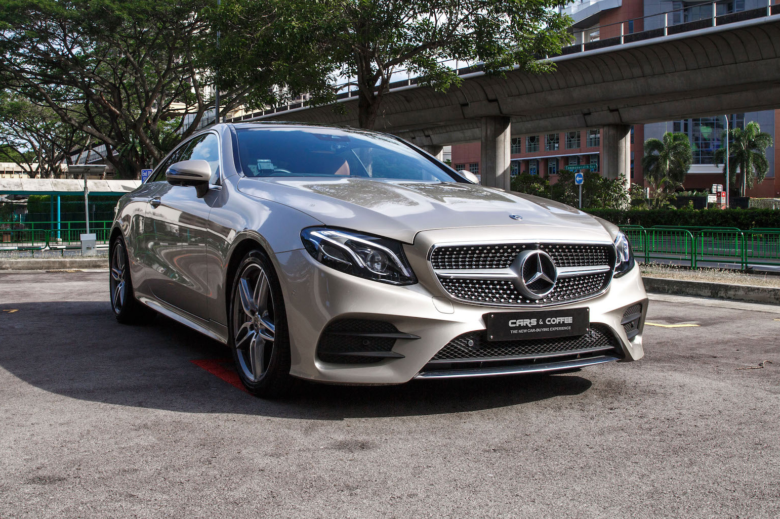 Certified Pre-Owned Mercedes-Benz E300 Coupé AMG | Cars and Coffee Singapore