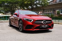 Certified Pre-Owned Mercedes-Benz CLS350 Coupé AMG | Cars and Coffee Singapore