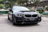 Certified Pre-Owned BMW 530i M-Sport | Cars and Coffee Singapore