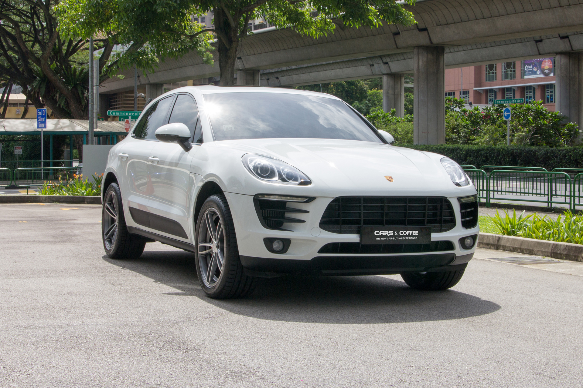 Certified Pre-Owned Porsche Macan S 3.0A PDK   Cars and Coffee Singapore