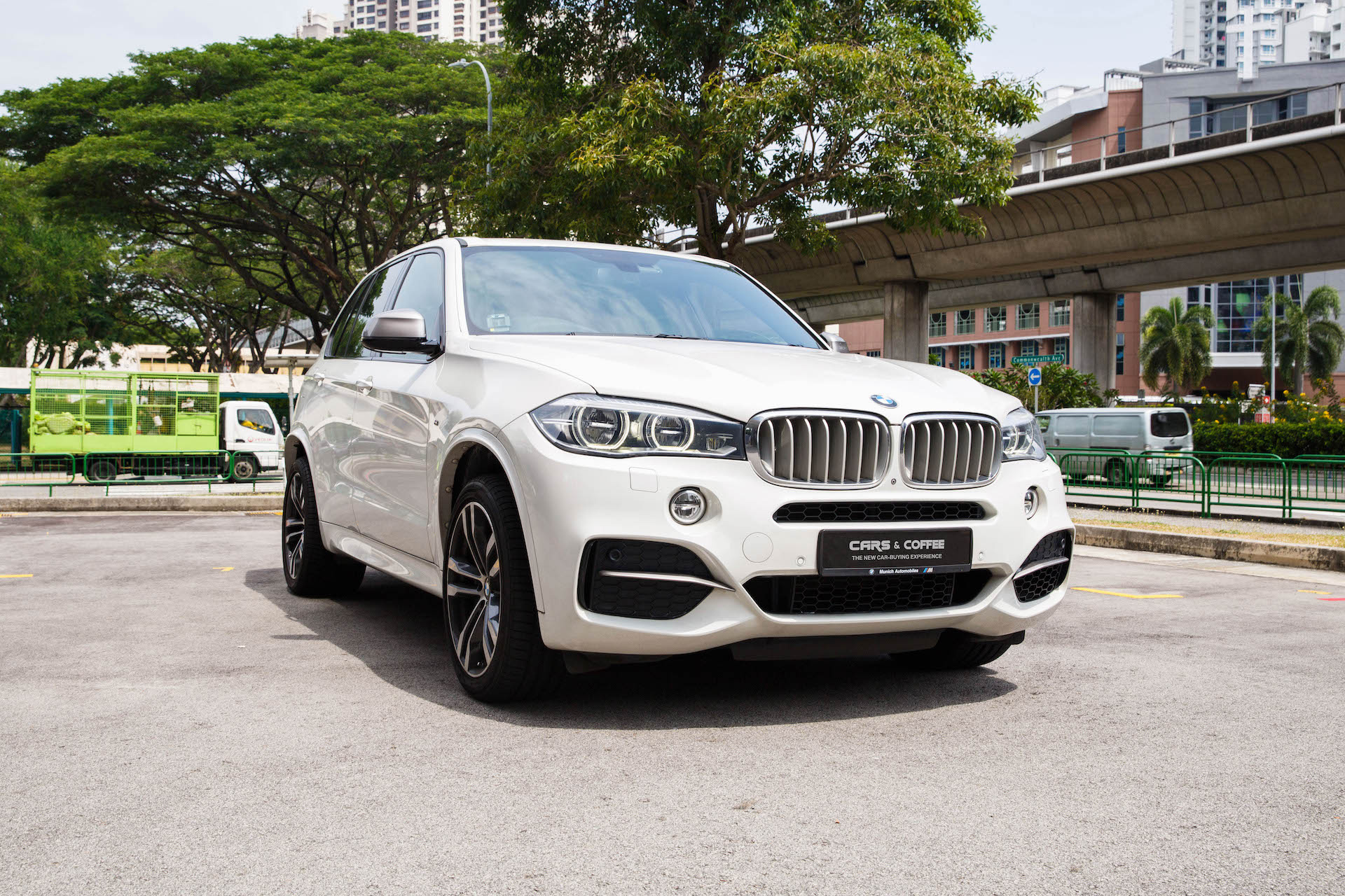 Certified Pre-Owned BMW X5 M50d   Cars and Coffee Singapore