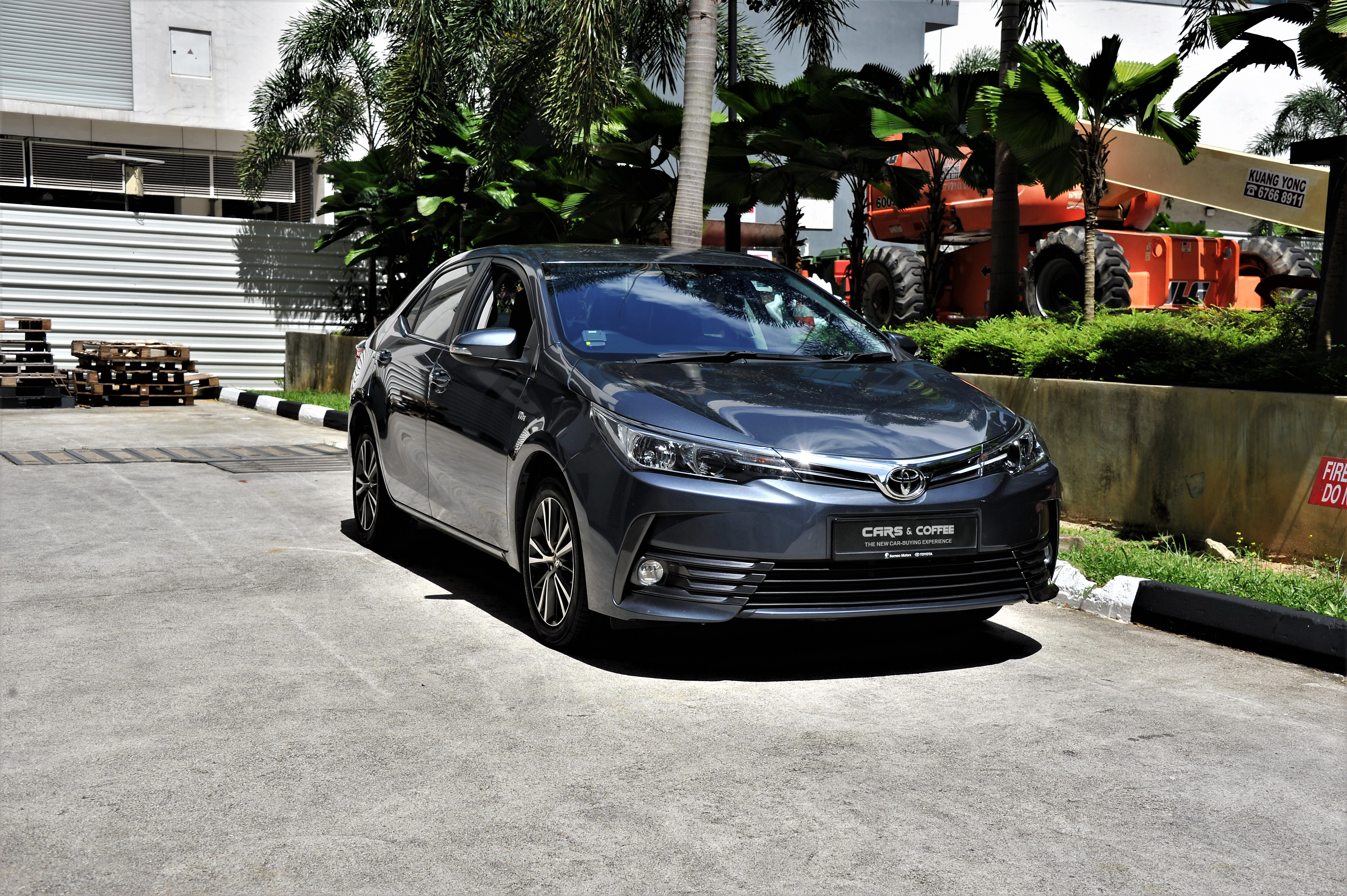 Certified Pre-Owned Toyota Corolla Altis 1.6A Standard   Cars and Coffee Singapore
