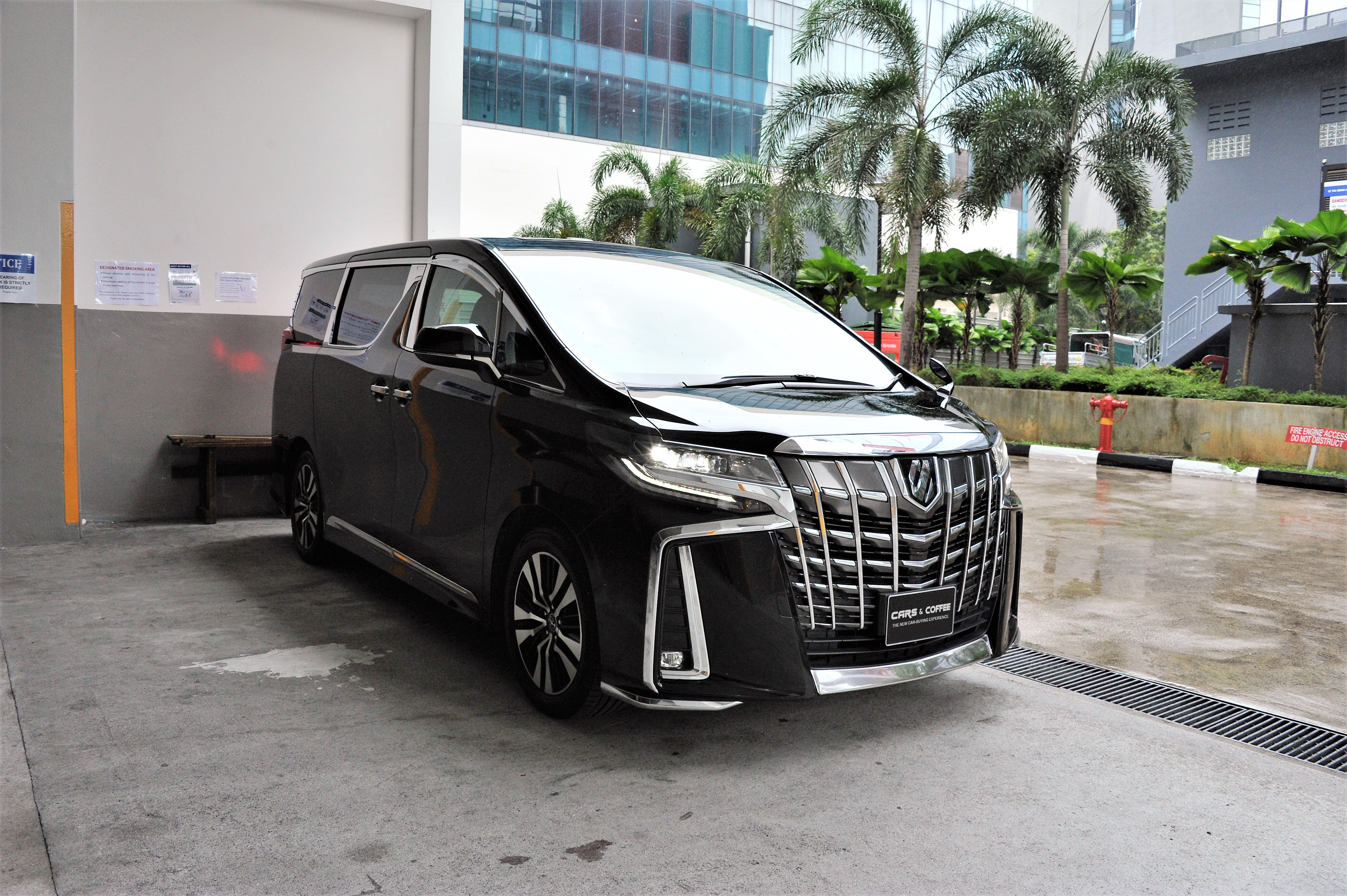 Certified Pre-Owned Toyota Alphard 2.5A SC Moonroof | Cars and Coffee Singapore