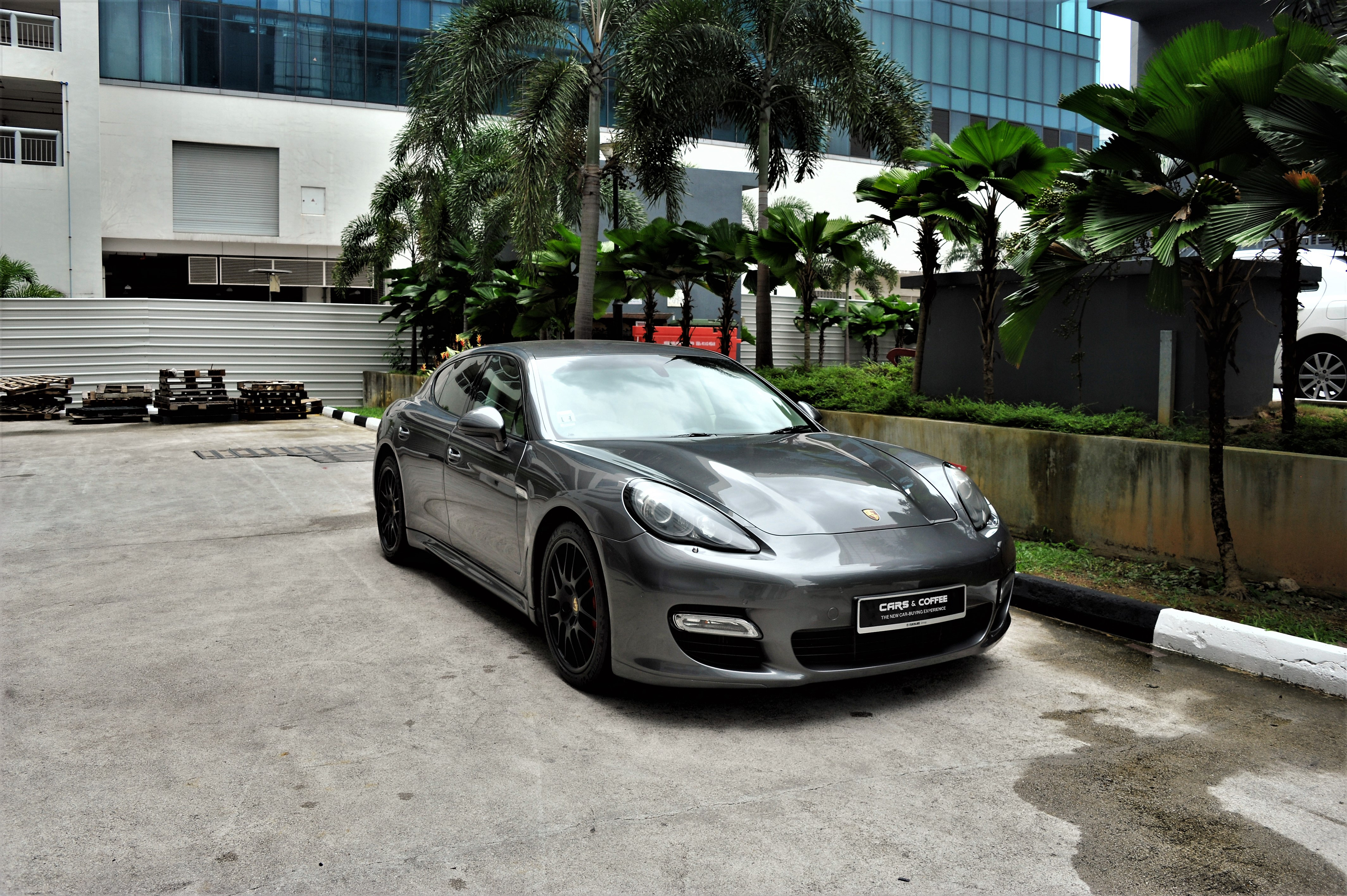 Certified Pre-Owned Porsche Panamera Turbo S 4.8A PDK | Cars and Coffee Singapore